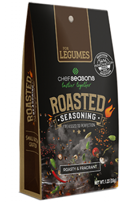 ROASTED SEASONING FOR LEGUMES